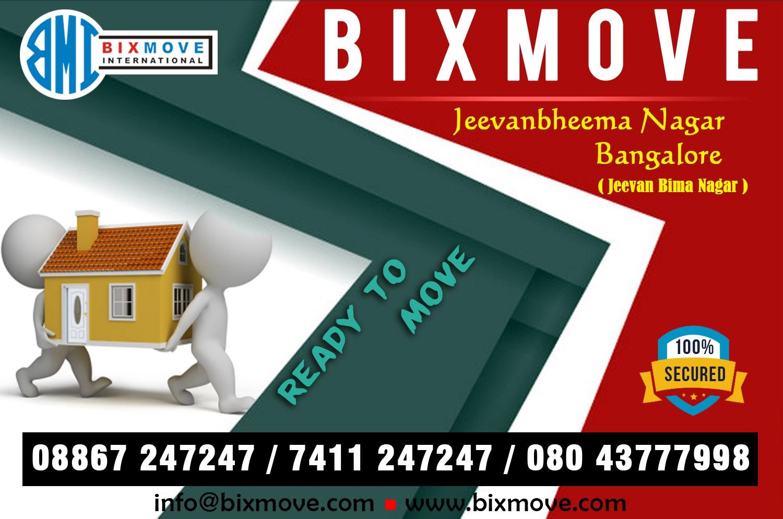 Packers and Movers Jeevan Bima Nagar
