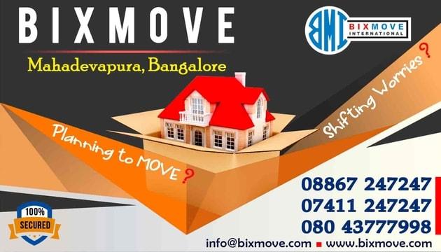 Packers and Movers Mahadevapura