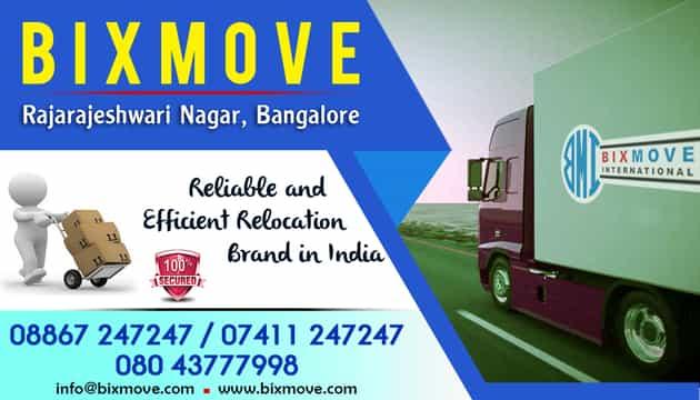 Packers and Movers Rajarajeshwari Nagar