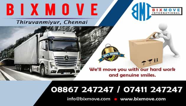 Packers and Movers Thiruvanmiyur